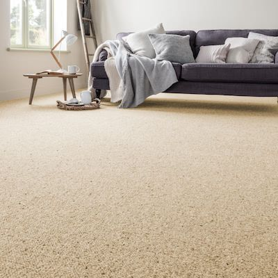 Cream-brown-carpet-living-room-vintage-wheat