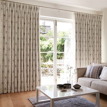 Grey Curtains in the Lounge - Lavida Grey