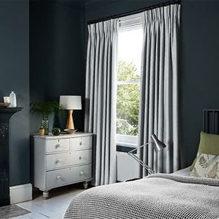 Allure Silver Curtains
