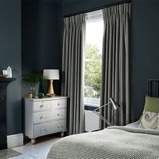Allure Slate Curtains