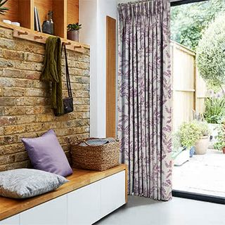 Delizia Violet Curtains