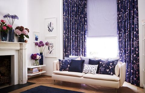 Purple-Curtain-Living-Room-Sorana Indigo