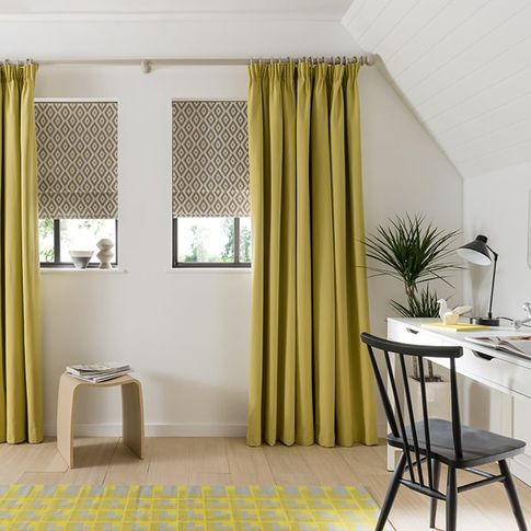 Yellow-Curtains-Study-Natur_Tetbury_Mustard