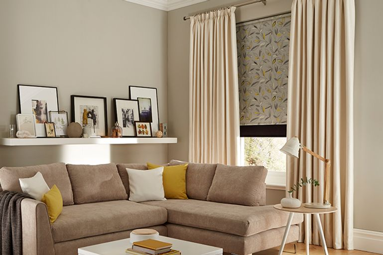 Cream-Curtains-Living-Room-Daze-Ivory_Roller_Joya_Norfolk_Charcoal
