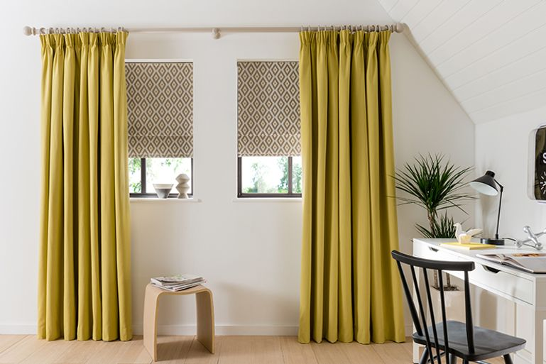 Yellow-Curtains-Study-Tetbury_Mustard