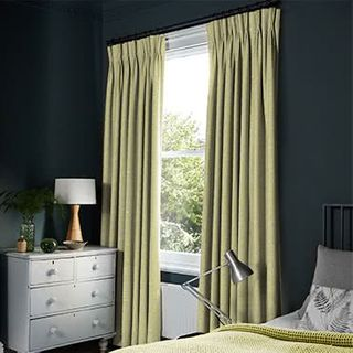 Oralia Ochre Curtains