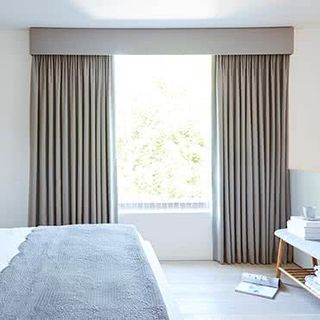 Tetbury Charcoal Curtains