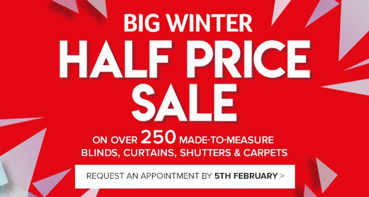 Big Winter sale - Up to Half Price
