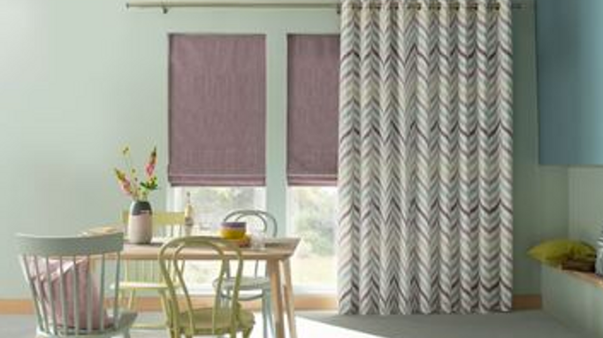 Create a Unique Look in Your Home with Purple Curtains! Browse Soft Shades from Soothing Lilac to Moody Indigo. Book a free in-home appointment NOW!