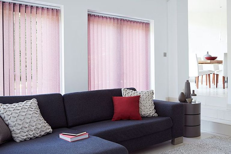 Pink Vertical Blinds 50 Sale Now On Pink Vertical
