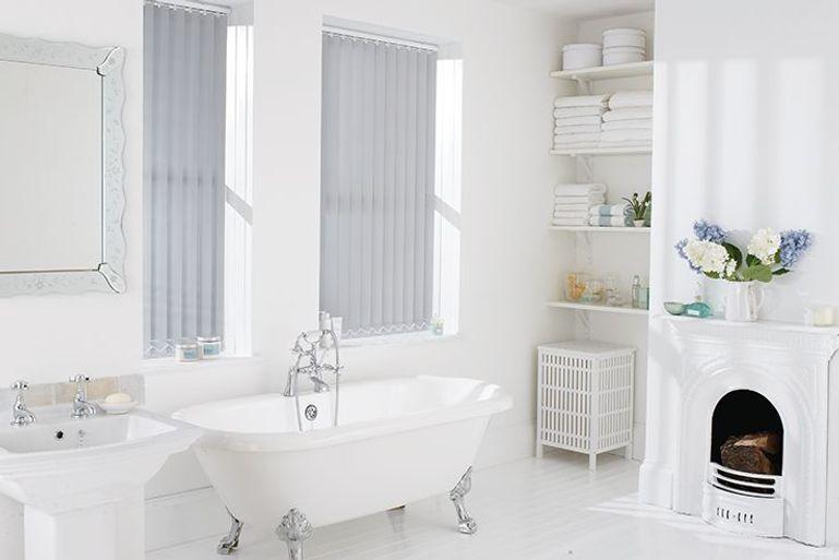 silver vertical blinds uk 50 sale now on silver. Black Bedroom Furniture Sets. Home Design Ideas