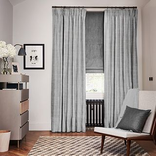 Opulence Dove Grey curtains
