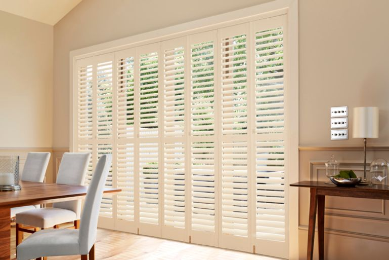 full-height-cream-dining-room-shutters