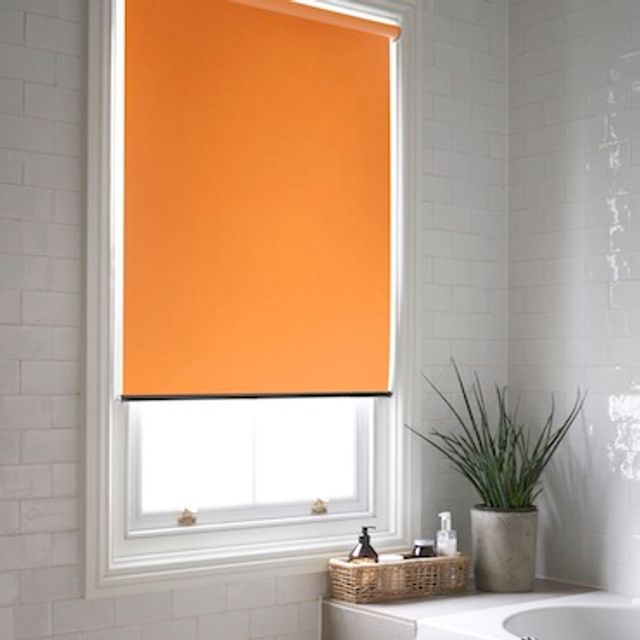 Acacia amber roller blind