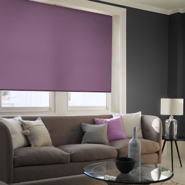 Acacia mulberry roller blind