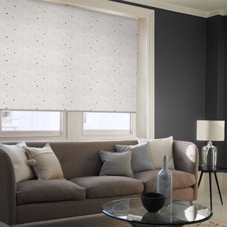 Cecille berry roller blind