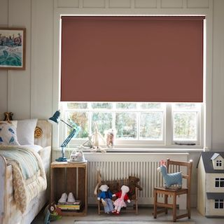 Cordova chocolate roller blind