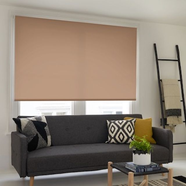 Cordova natural roller blind