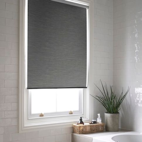 Jerico charcoal roller blind