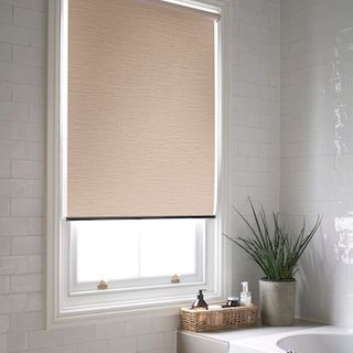 Jerico natural roller blind