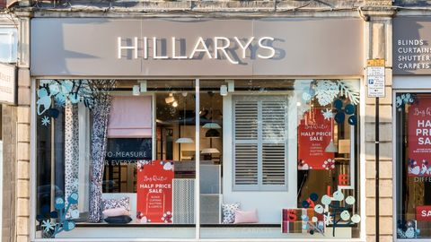 Hillarys Bristol showroom shop front