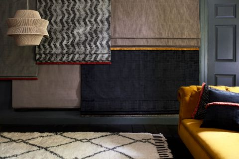 HIL_ABIGAILAHERN_LANDSCAPE_Cley-Donkey_Cadillac-Noir_Garratt-Bullrush_Amis_Buff_and_Cley-Mole_Roman_blinds_with_Beats-Haze_and_Cley-Mole_cushions-copy