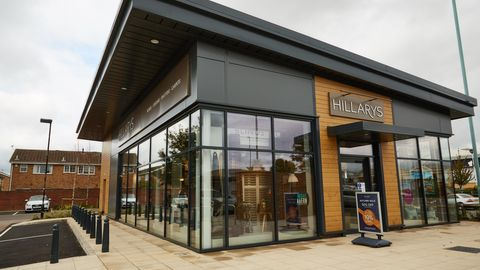 Hillarys cheltenham showroom from the outside