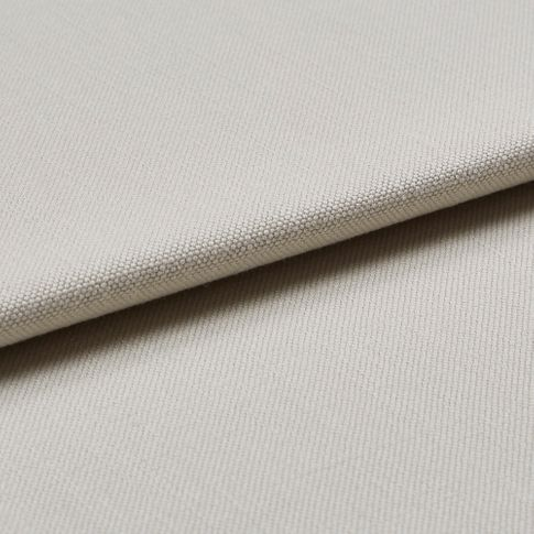 White coloured fabric swatch which is folded over