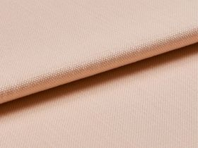 Pink coloured material of folded swatch fabric