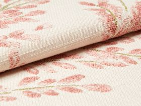 Delizia Blush Roman Blind and Curtain