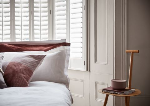 Full height Silk White Craftwood shutters