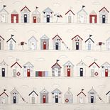 Beach Huts Blue