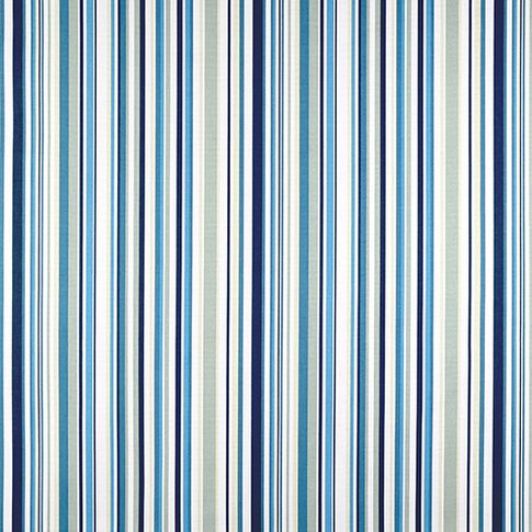 City indigo swatch with stripes of blue, grey and white
