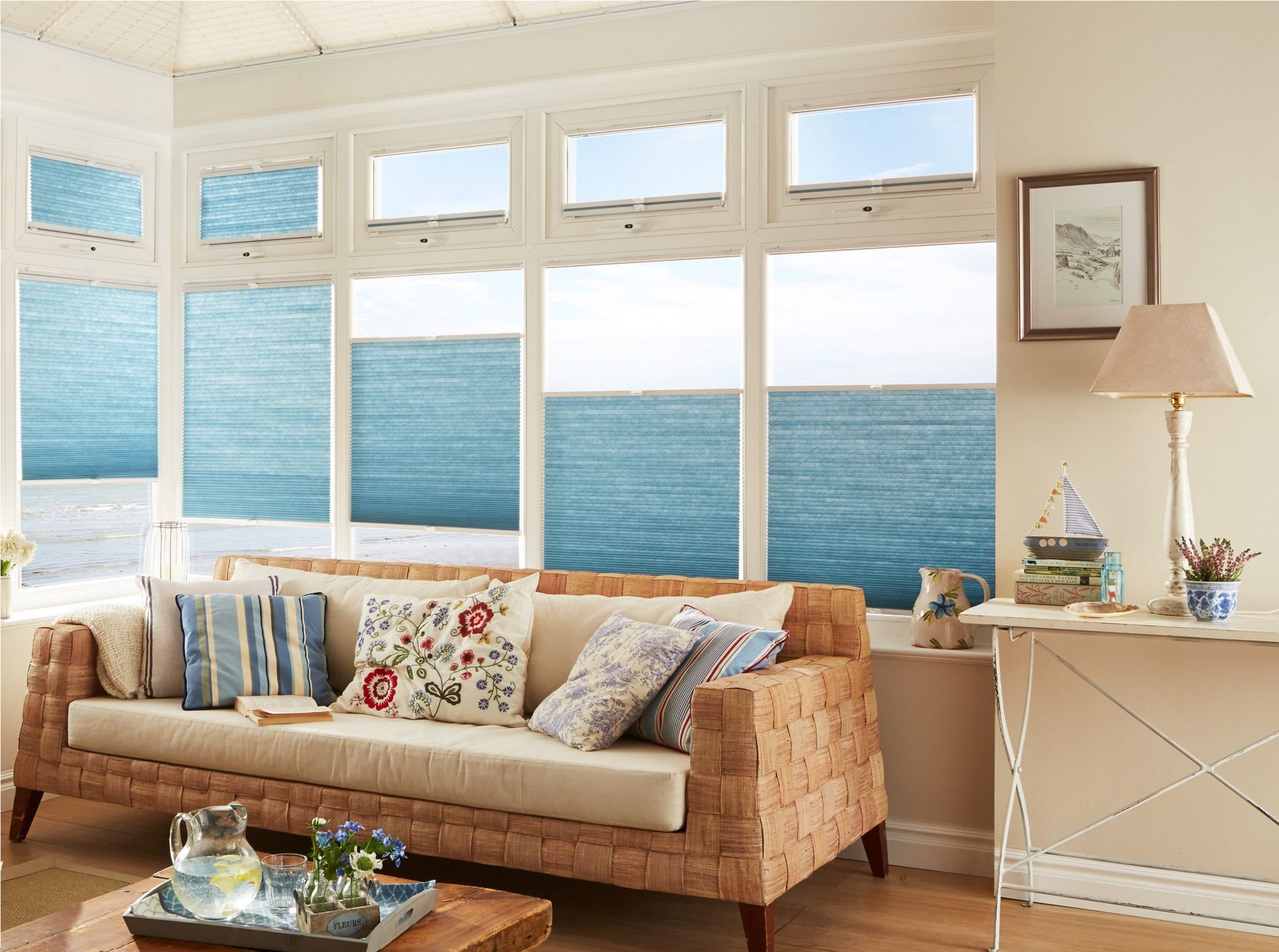 Top Down Bottom Up Pleated Blinds│hillarys