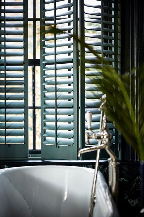 Full Height Bathroom Shutters