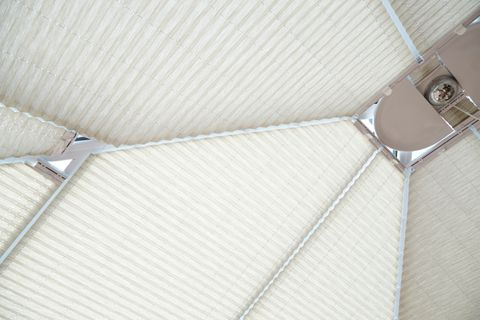 Montoya Umber Pleated roof blind