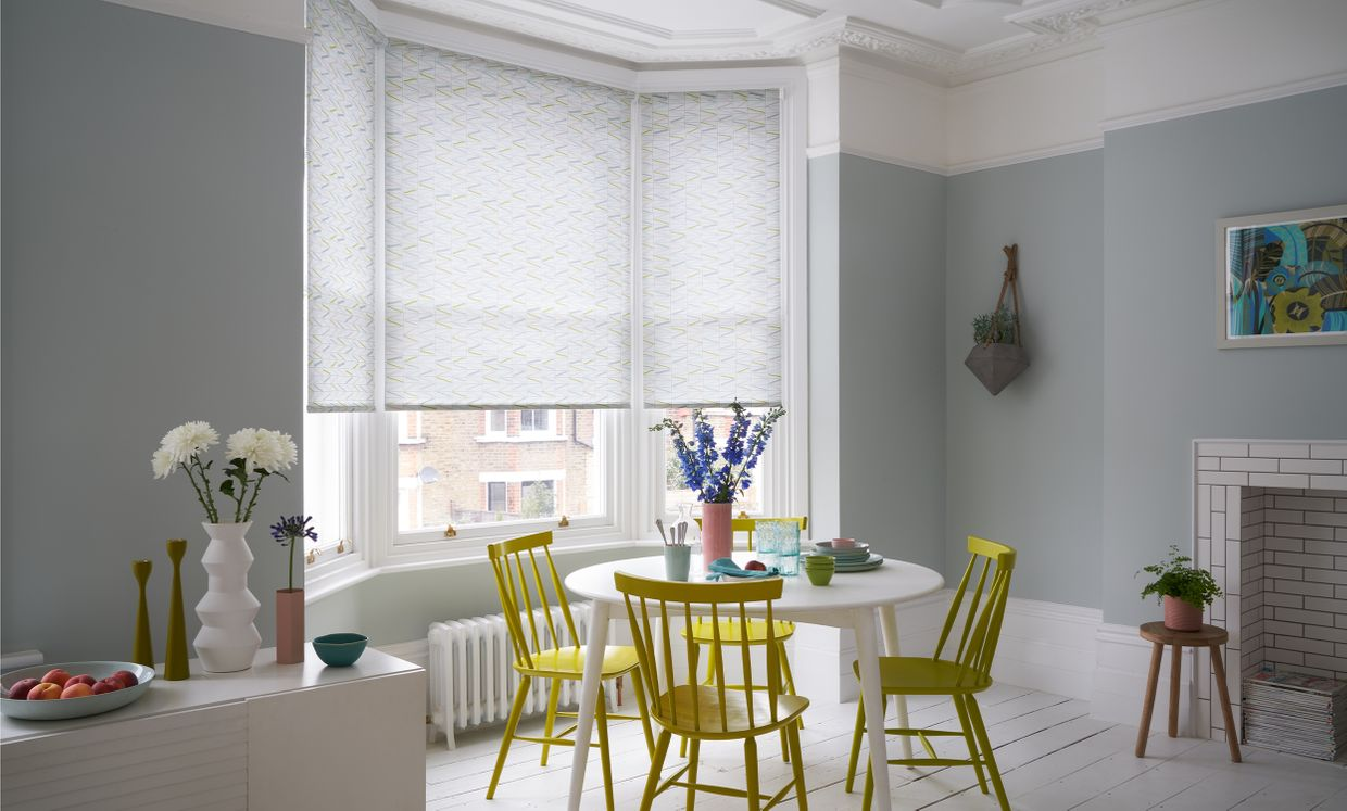 Rye Lagoon Roller blind in Dining room