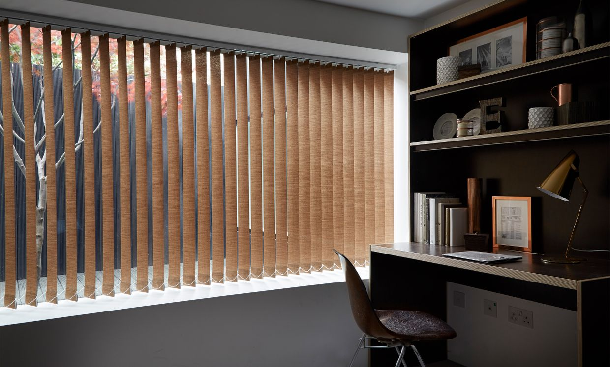 Kelis Copper Vertical blinds