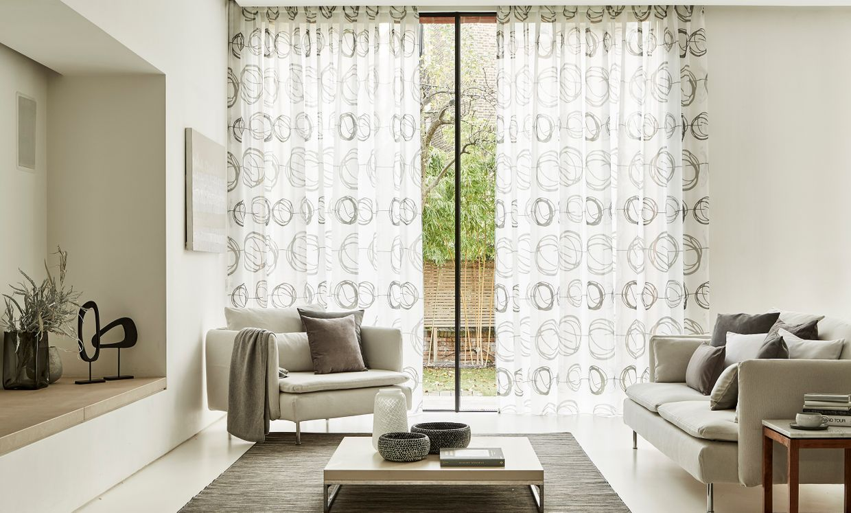 The Voile Range Curtains And Blinds Hillarys