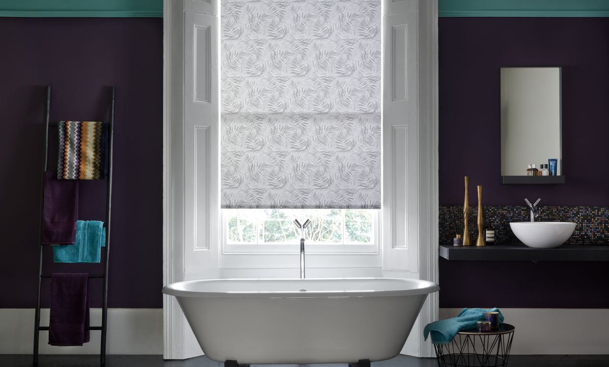Hothouse black bathroom blind