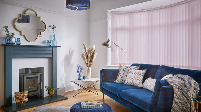 Read our guide to Vertical blinds. We explain what Vertical blinds look like, which windows they're best for and how they work. Request an in-home appointment to see the full range.