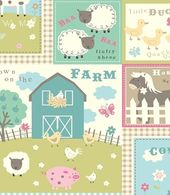 Farm Animals Pastel