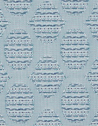 Fletcher Blue fabric swatch from the 2019 Vertical blinds launch