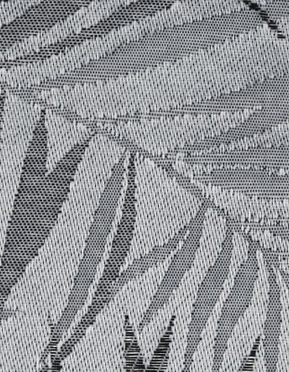 Hothouse Liquorice fabric swatch from the 2019 Vertical blinds launch