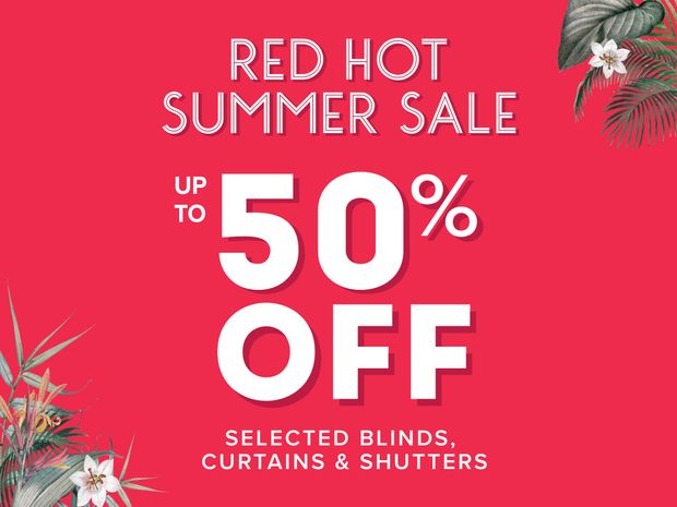 Red Hot Summer Sale: Up to 50% off selected styles