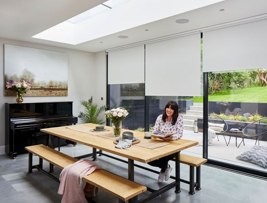anna richardson dining room roller blinds
