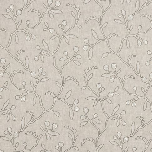 Light beige coloured fabric swatch