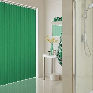 Vertical Blind_Acacia Emerald_Roomset