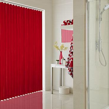 Hillarys Blinds Online >> Red Vertical Blinds | Made-to-Measure in the UK | Hillarys™
