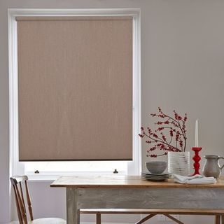 Roller Blind_Acacia Peat_Roomset